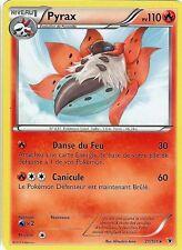 Carte Pokemon PYRAX Noble Victoires Noir & Blanc PV 110 21/101 RARE VF