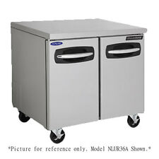 """Nor-Lake Nlur36A-013 Undercounter Reach-In Refrigerator with 6"""" Legs"""