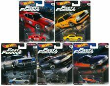 """Set of 5 Premium Series Fast & Furious Rewind """"E"""" Case 1:64 - Hot Wheels GBW75E*"""