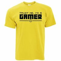 Mens Funny Gaming T Shirt Trust Me I'm a Gamer Slogan Xbox PS4 PC Console Tshirt