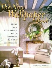 The New Wallpaper Book Ideas for Decorating Walls, Ceilings & Home FREE SHIPPING