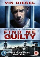 FIND ME GUILTY - DVD**USED VERY GOOD**FREE POST**