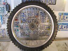 Yamaha YZ125 YZ 125 250 YZ250 front rim wheel  brake disk Dulop sport tire
