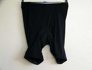 Vintage Black Padded Cycling Shorts Size S Rodeo C&A