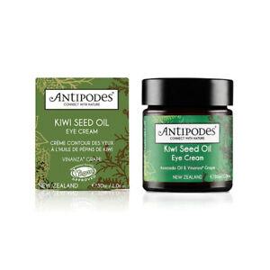 Antipodes Kiwi Seed Oil Eye Cream (30ml) Brand New Boxed