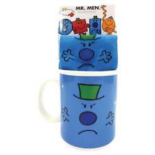 Mr Grumpy Mug & Socks Gift Set Men's Adult Socks - NEW