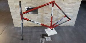Colnago Master X-Light Saronni red steel road bicycle frameset frame fork 55 NEW