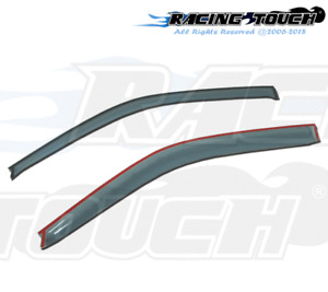 For Ford Windstar 95-03 Ash Grey Out-Channel Window Visor Sun Guard 2pcs