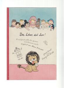 Der Löwe ist Los! Max Kruse - Franziska Bilek Original 1952 Kinderbilderbuch