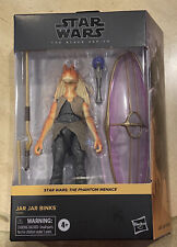 Star Wars Black Series 6 Inch The Phantom Menace Jar Jar Binks.