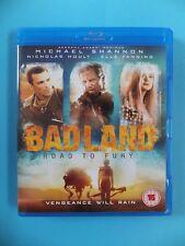 BADLAND ROAD TO FURY VGC BLU RAY HD DVD Movie Video