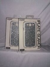 Xqisit iPlate Glamor Sparkly Silver Glitter Case For Samsung Galaxy S3