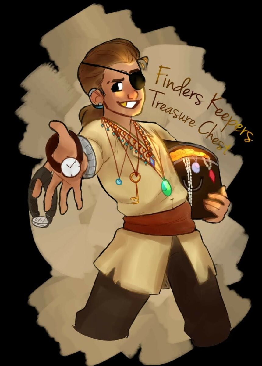 FINDERS KEEPERS TREASURE CHEST
