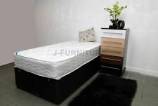 Coil Spring Medium Traditional Divan Beds with Mattresses
