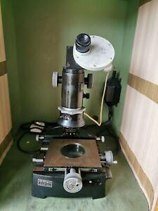 Kleines Carl Zeiss Werkzeugmikroskop Messmikroskop Mikroskop