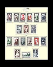 VINTAGE: FRANCE 1945 OG/ LH SCOTT #1950P $147 LOT #1950P12