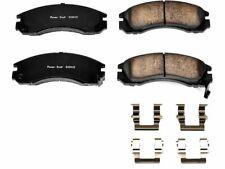 For Mitsubishi Eclipse Disc Brake Pad and Hardware Kit Power Stop 26122QR