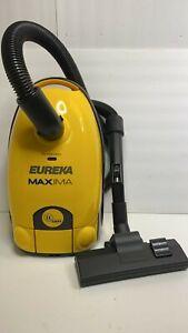 Eureka Maxima Canister Vacuum 972 w/ Hose Wand & Floor Attachment Tool