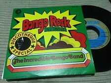 "INCREDIBLE BONGO BAND - BONGO ROCK SPANISH 7"" SINGLE SPAIN MGM 73 FUNK SOUL"