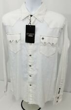 Sevens by Cinch Garth Brooks snap front western cowboy shirt. Men's size SMALL