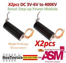 2pcs DC 3V-6V to 400kV 400000V Boost Step up Power Module High Voltage Generator