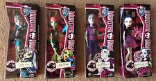 NEW Monster High Ghoul Spirit 4 Doll Lot Spectra Venus McFlytrap Frankie Slo Mo