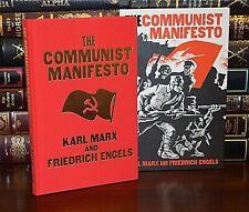 New Communist Manifesto Karl Marx Illustrated Deluxe Hardcover Slipcase Gift