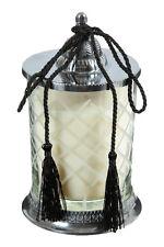 Cèdre Bougie parfumée en un pot verre, décorative bougie-pilier