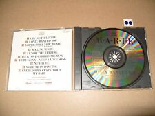 Marie Osmond I only wanted you cd 1986 Excellent Condition