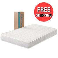 6 Inch Comfort Bunk Bed Mattress Twin Size Innerspring Heavy Duty Coil Mattress