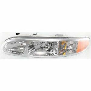 NEW HALOGEN HEAD LAMP ASSEMBLY LEFT SIDE FITS 1999-04 OLDSMOBILE ALERO GM2502203