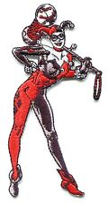 HARLEY QUINN pose IRON ON PATCH applique jester batman joker dc comic book girl