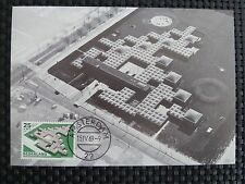 NETHERLANDS MK 1969 ARCHITECTURE BAUHAUS MAXIMUM CARD MAXIMUMKARTE MC CM c3724