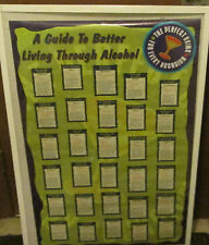 PERFECT DRINK POSTER OOP COLLEGE DRINKING GAMES ALCOHOL