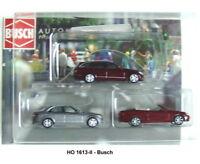 Busch Ho 1613/02 - Mercedes-Set 3-teilig - 3 Various Colours New Original