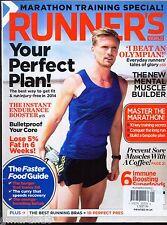 2 Runner's World Magazines UK - Jan & March 2014 - Marathon Training - Wild West