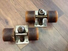 CHICAGO TRUCKS / CADILLAC WHEELS VINTAGE / SKATEBOARD / BAHNE / 60's 70's