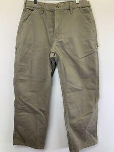 Carhartt  Mens 34x30 Brown Carpenter Dungaree Jeans NW/OT's (H46)