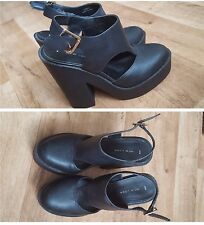 NEW LOOK,SHOES,UK 6,ADJUSTABLE STRAP,(BARELY USED)