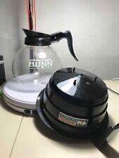 Bunn Schmitt Duran Commercial Pour Over Coffee Glass Carafe 0707 Set With Dripper
