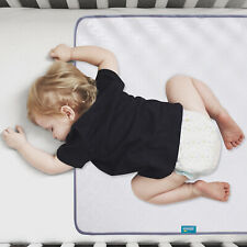 "Baby Changing Pad Nappy Cover Cotton Urine Mat Anti-Slip 38""x27"" Waterproof"
