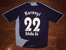 Men's XL adidas 2008-09 FC Schalke 04 3rd Football Soccer Jersey Kuranyi #22 EUC