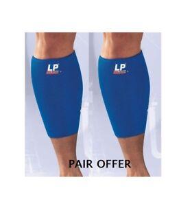 LP 718 Neoprene Calf Shin Support Guard Wrap Splint Sleeve Leg Injury Pain -PAIR