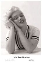 MARILYN MONROE - Film star Pin Up PHOTO POSTCARD - 201-595 Swiftsure Postcard