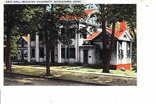 Wesleyan University Middletown, Ct East Hall @ 1915-20