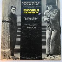 Midnight Cowboy Original Movie Soundtrack LP Vinyl Record - 1969