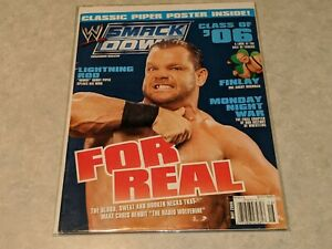 CHRIS BENOIT For Real Crippler WWE Smackdown MAGAZINE Wrestling May 2006 Issue