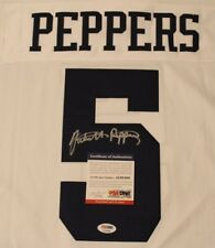 Jabril Peppers Signed Michigan Wolverines Jersey COA PSA DNA Autograph Browns