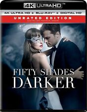 FIFTY SHADES DARKER  (4K ULTRA HD) - Blu Ray -  Region free