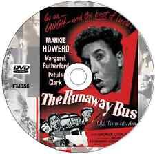 The Runaway Bus - Margaret Rutherford, Frankie Howerd, Petula Clark  DVD 1954